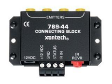 kb01213 how to connect a powered ir connecting block to an xantech ir receiver wiring diagram the xantech 789 44 looks like so